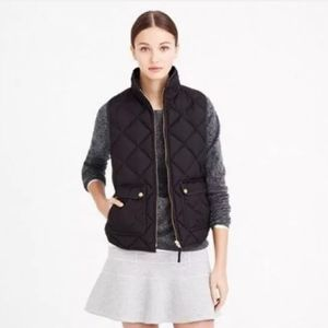 J. Crew Excursion Quilted Down Filled Vest B0109